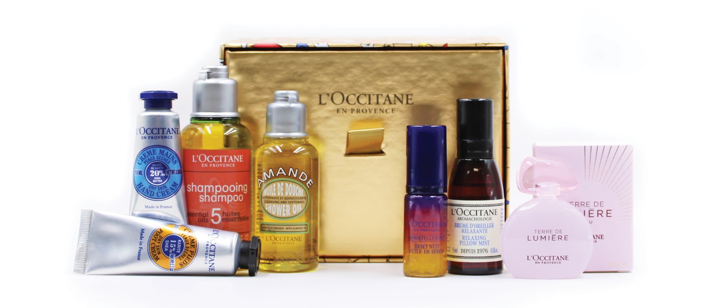 L'OCCITANE: receive Magic of Provence Collection for half price