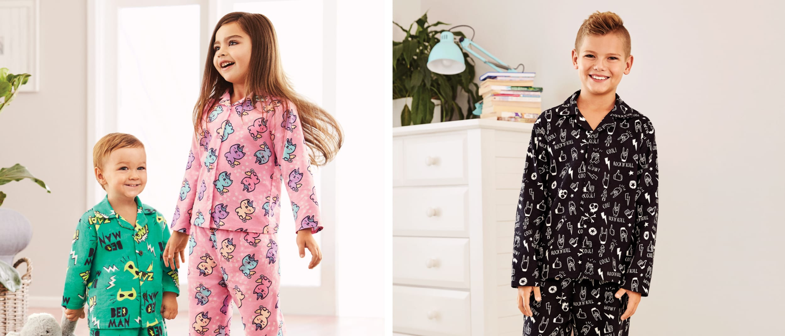 Cosy flannelette PJs at Best&Less