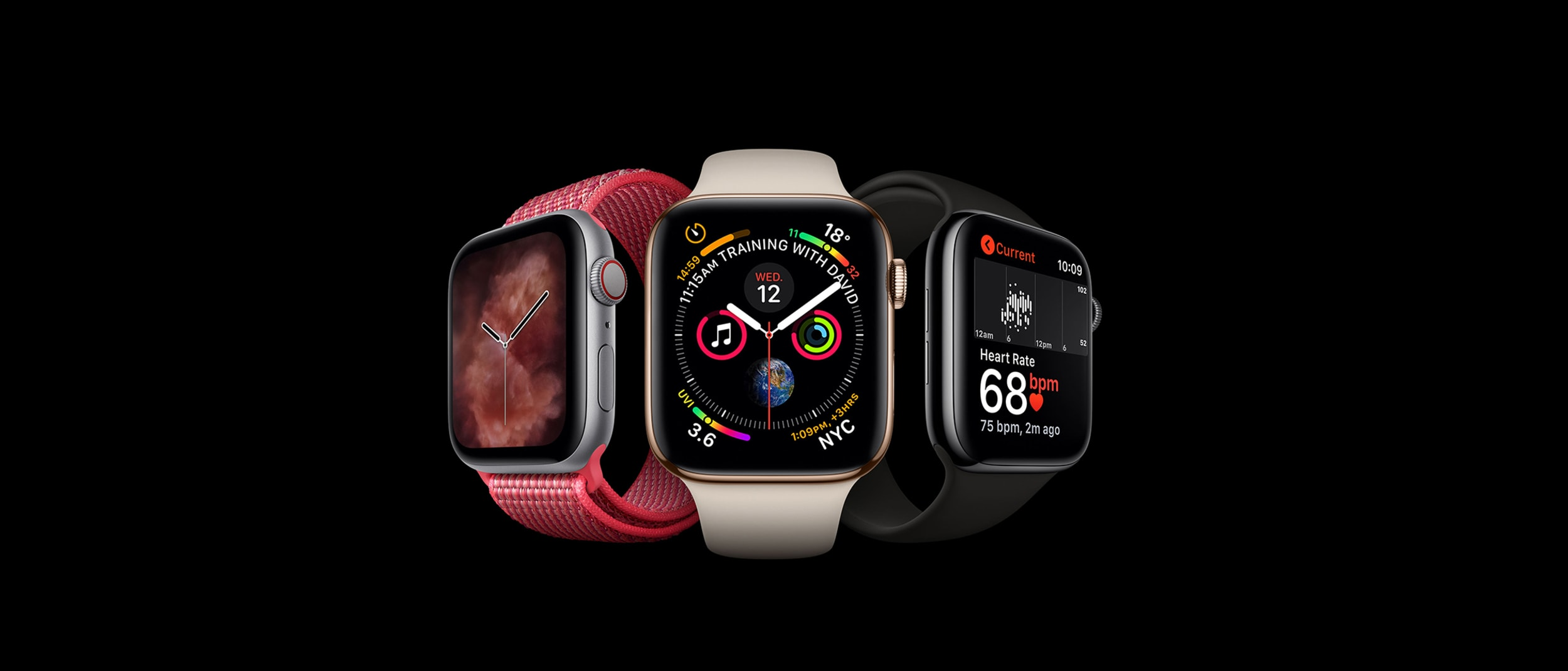 Apple: introducing the Apple Watch Series 4 (GPS)