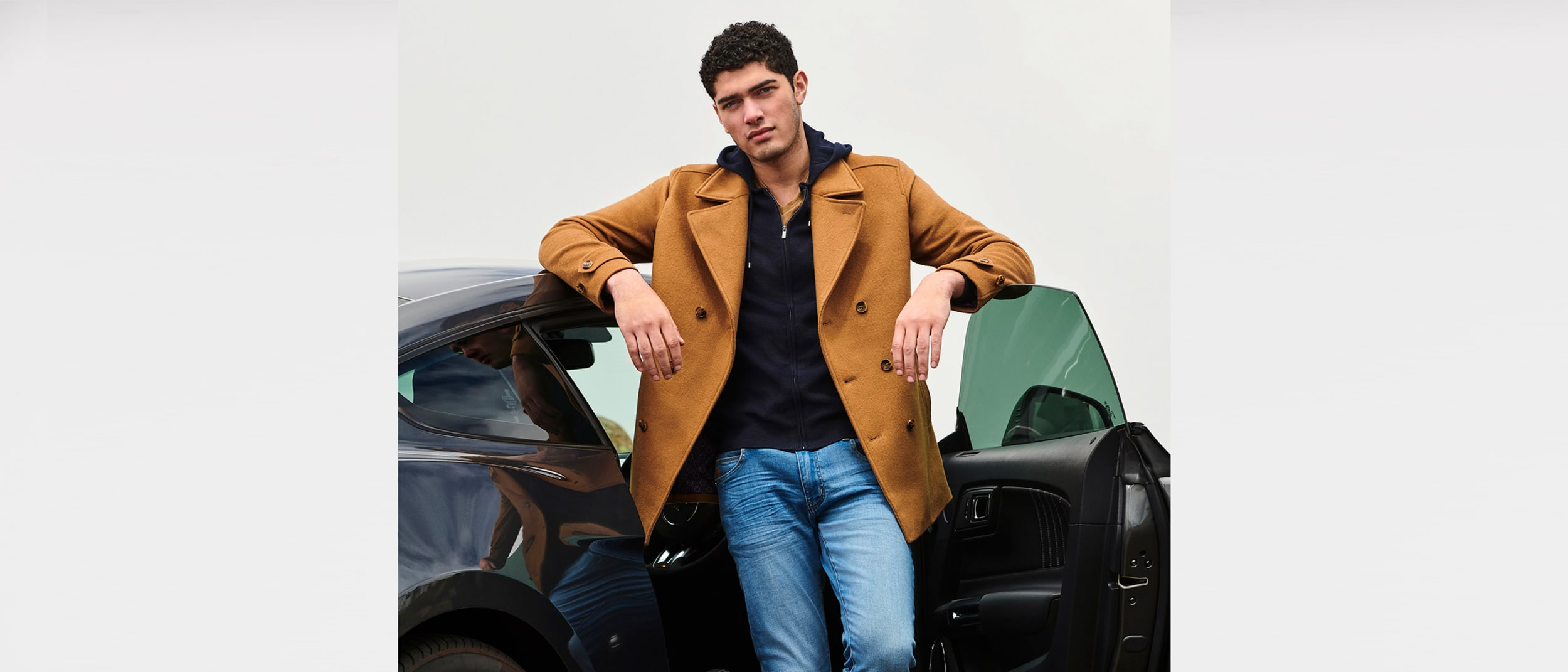 Politix: $100 off jacket, top and bottom combo