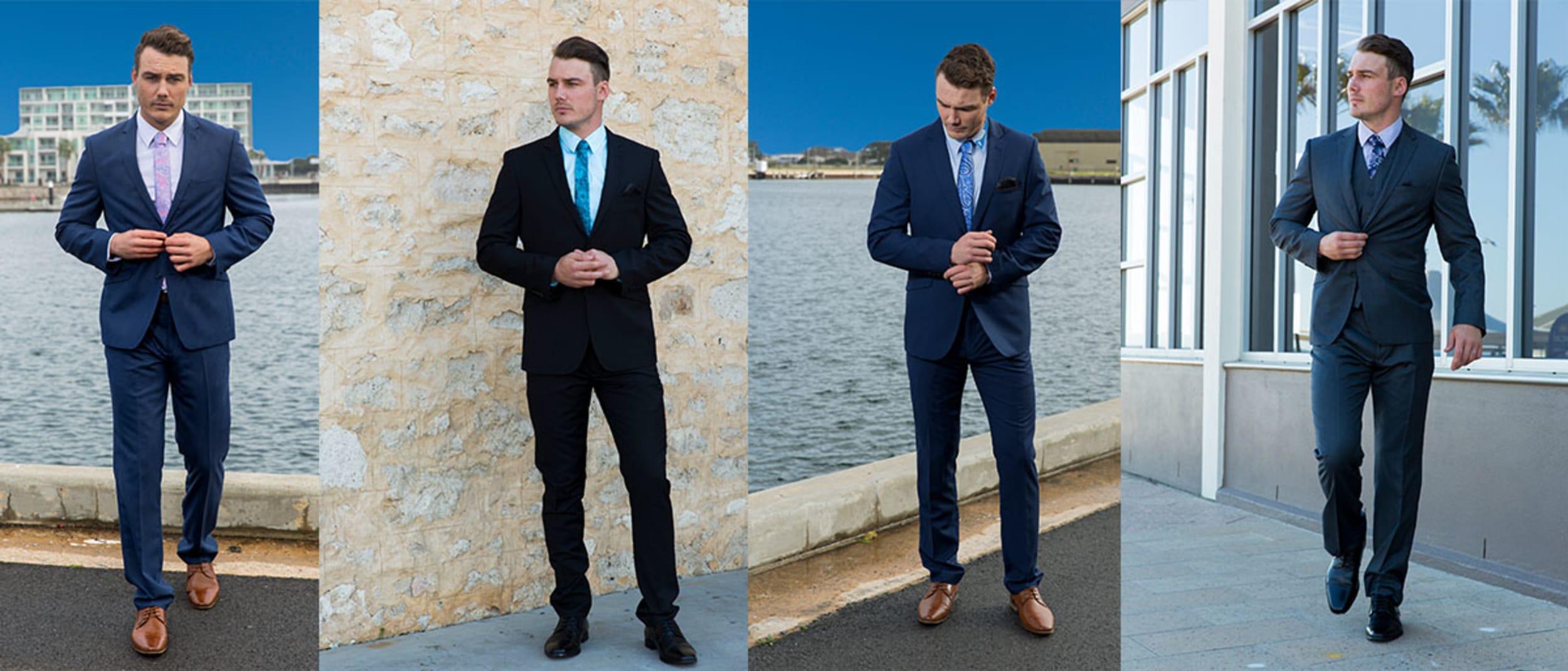 Ed Harry: 2pc suit + shirt $198