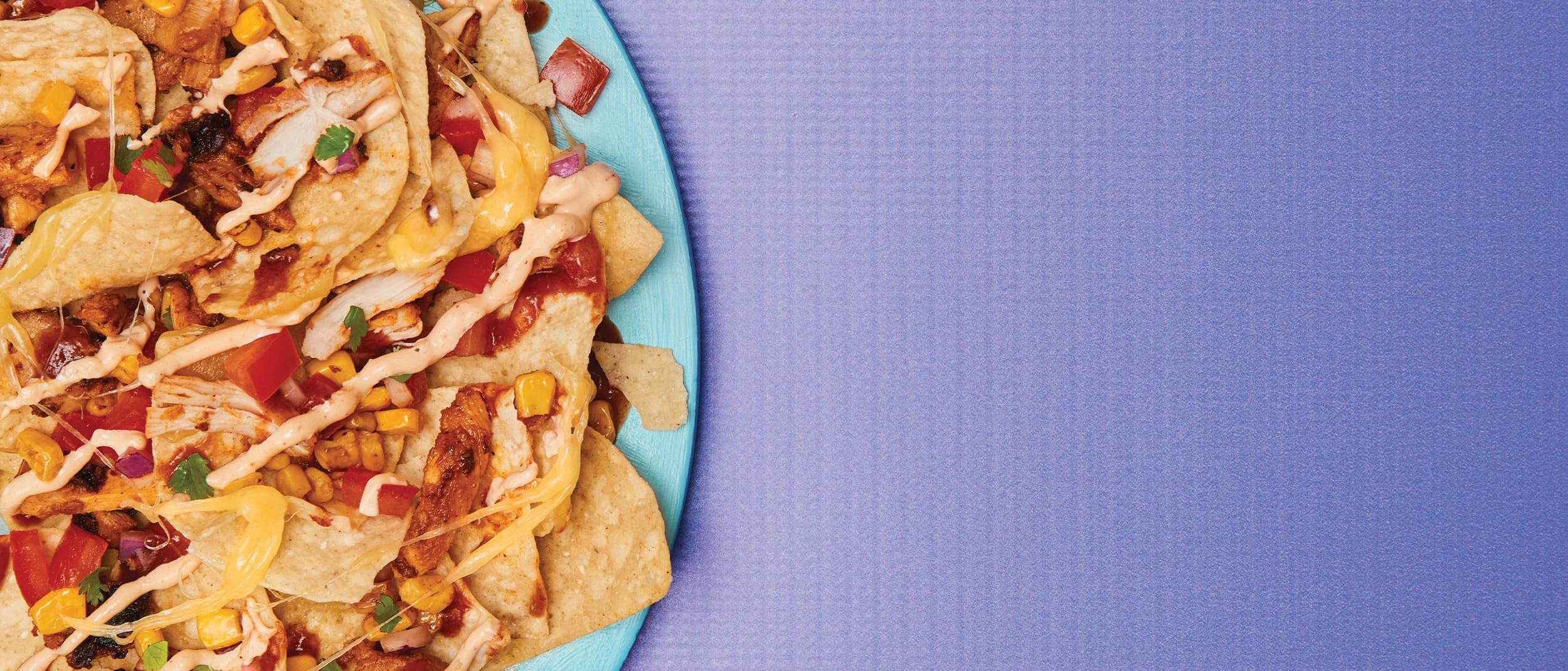Salsa's Fresh Mex Grill: Chicken Nachos