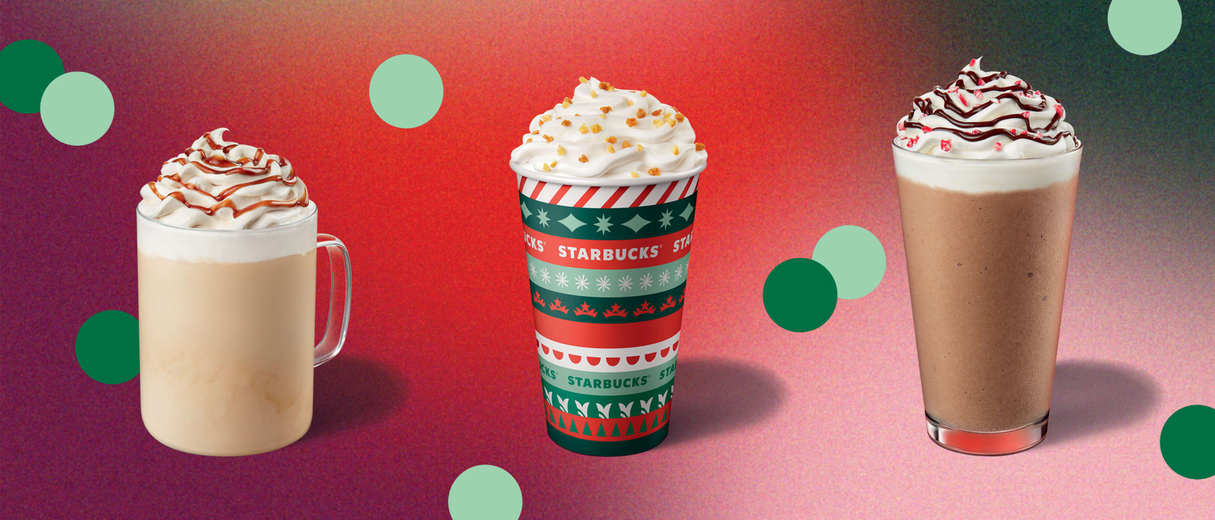 Starbucks: Christmas sips