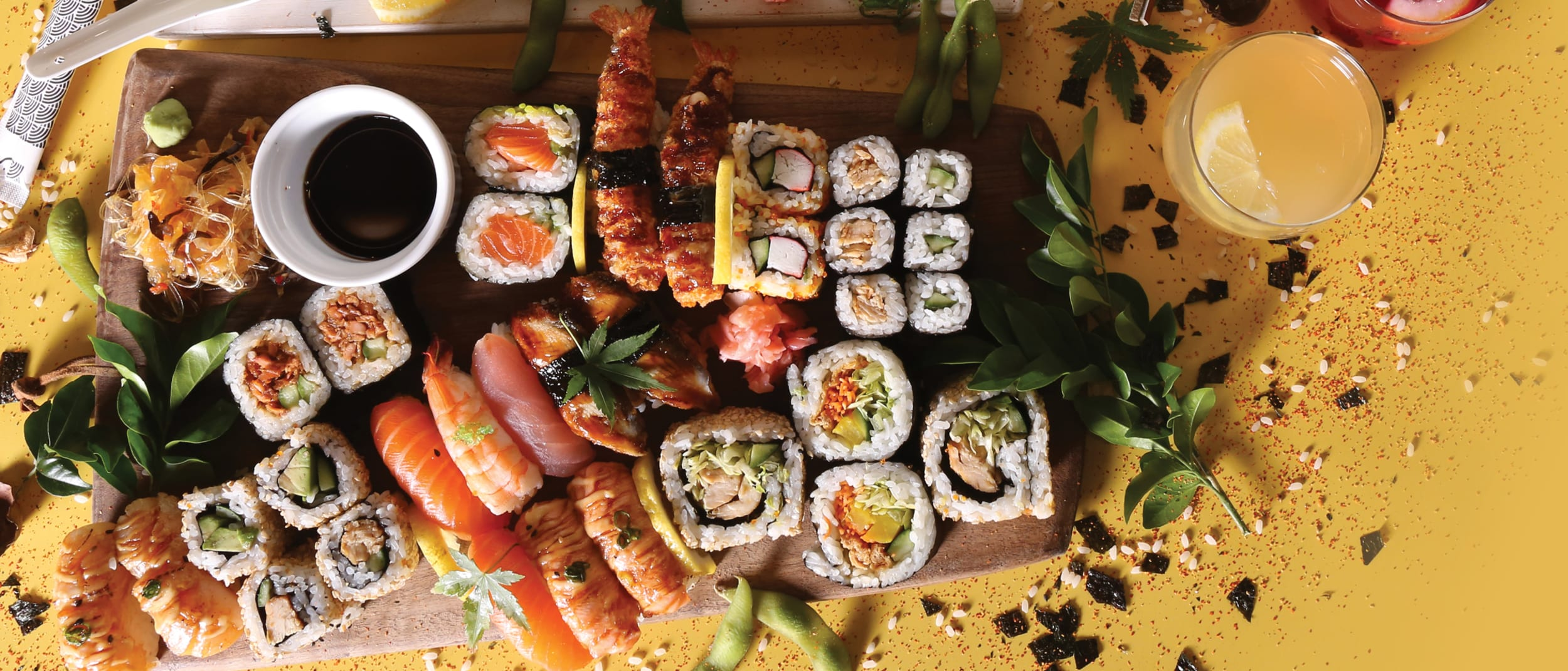 Sushi Hub: Free miso when you spend over $15