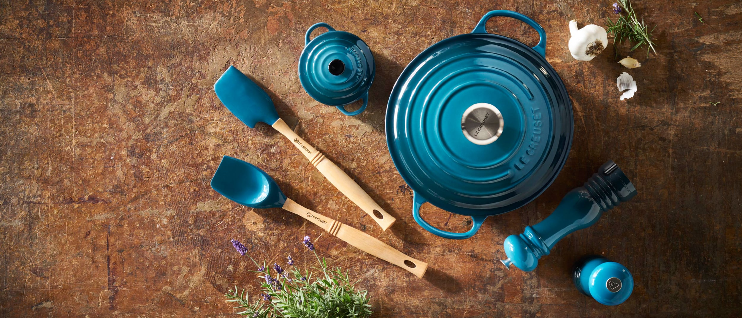 World pasta day with Le Creuset