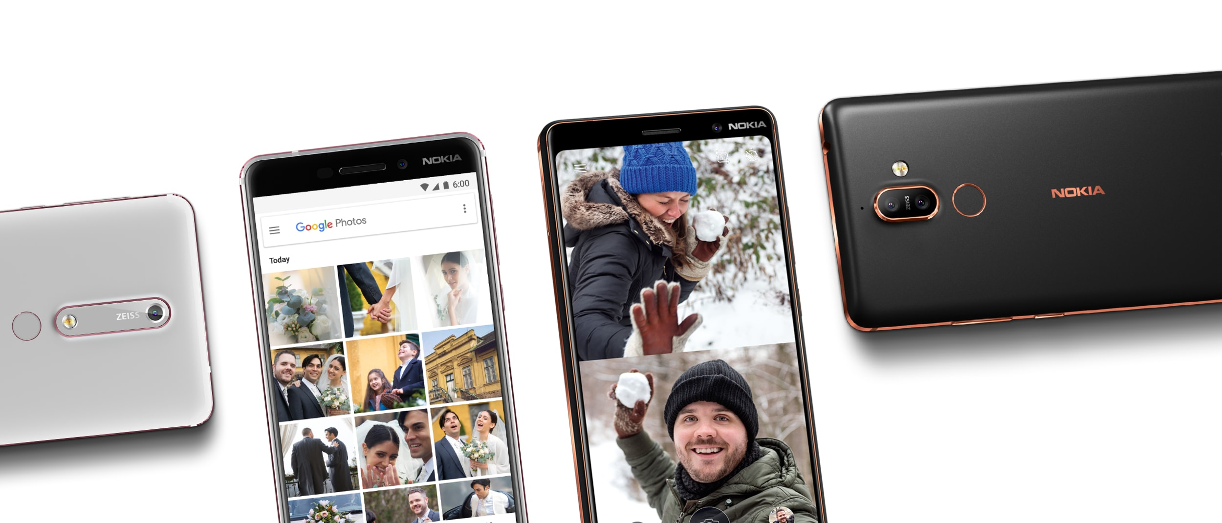 New Nokia phones with the latest Google innovations