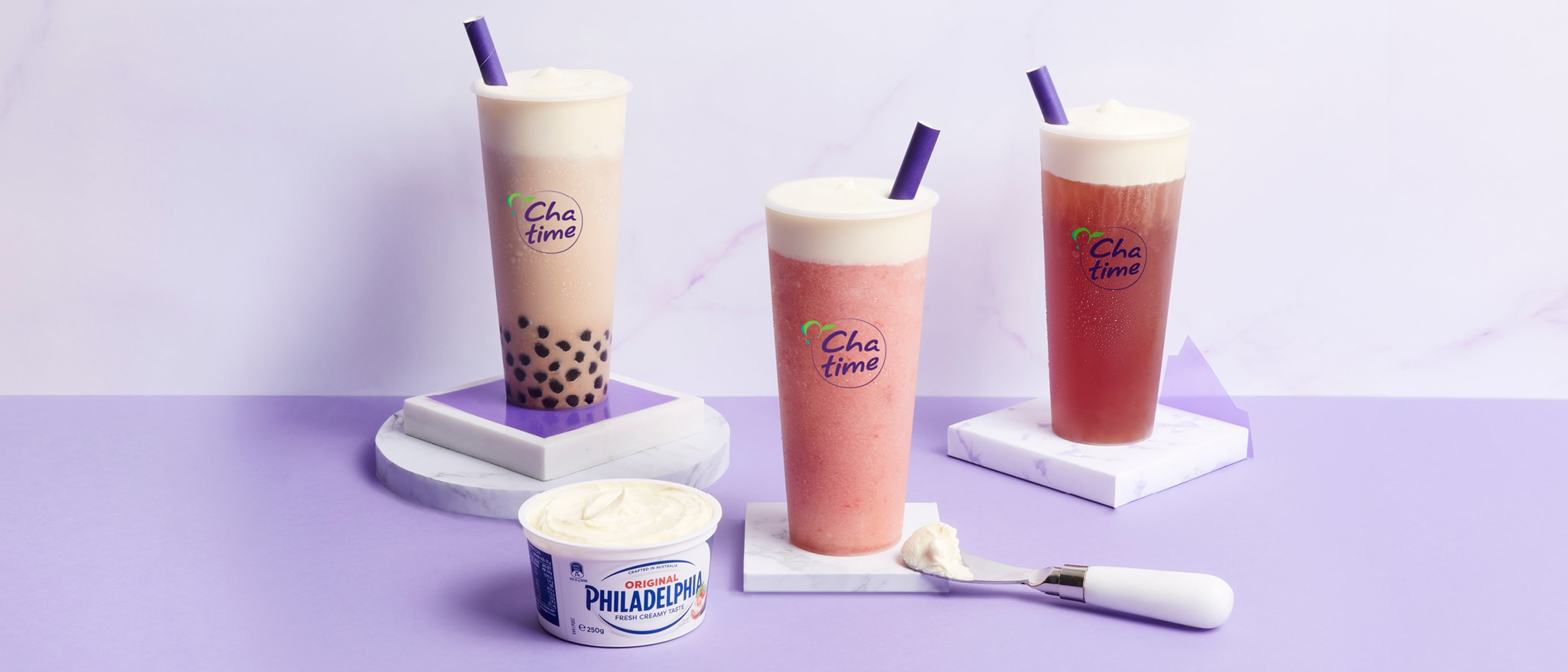 Chatime: We're whipped for the new Philly® Cream Mousse