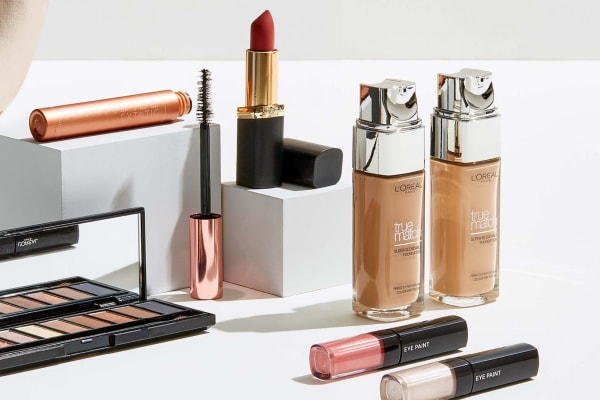 Target: 40% off selected cosmetics brands.
