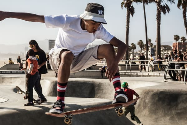 Kids' skate essentials: skateboards, sneakers and skate clothes