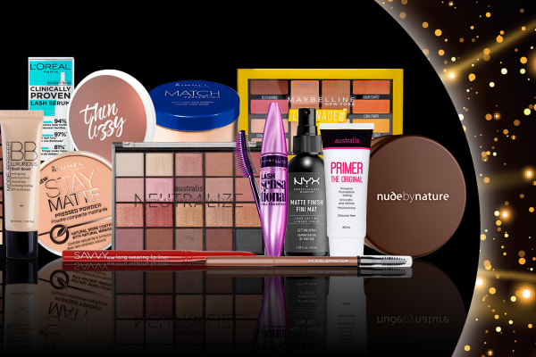 Priceline: 1/2 price cosmetics sale