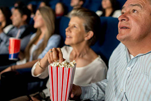 Seniors' morning tea at Event Cinemas