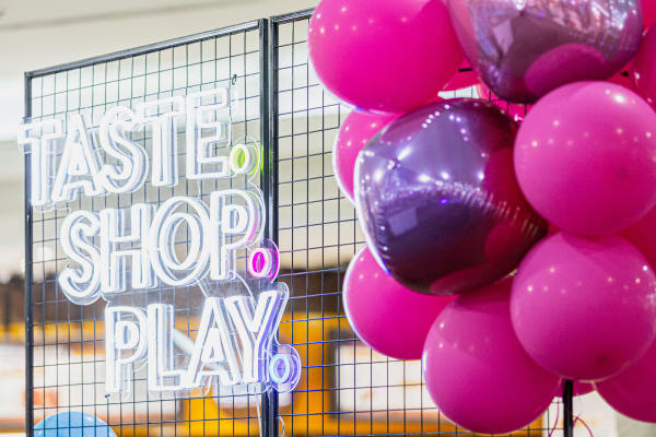 Taste. Shop. Play. wrap up