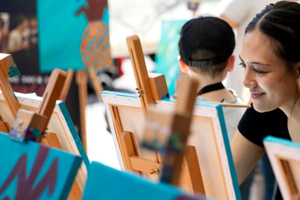 Pinot & Picasso Adult Painting Workshop