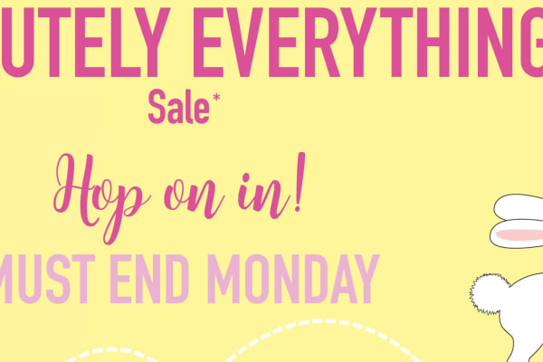 Prouds The Jewellers: absolutely everything sale