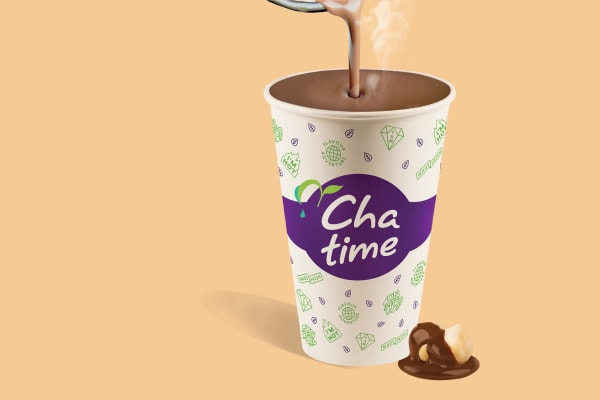 Chatime: new Choc Hazlenut Milky Tea