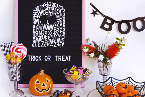 Westfield Mt Druitt Halloween checklist