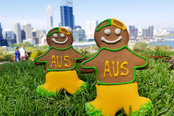 Miss Maud: Aussie gingerbread