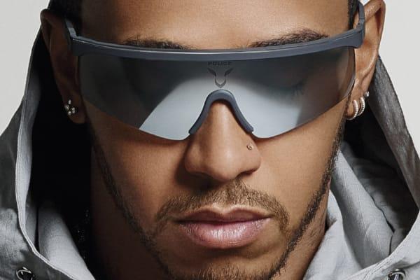 Sunglass Culture: Police X Lewis Hamilton