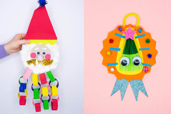 Get crafty at home with these kids Christmas activities