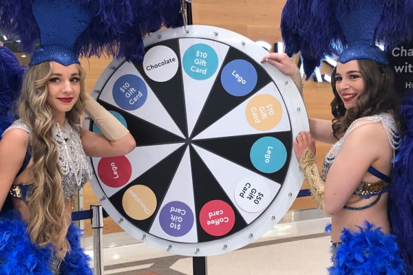Spin to win with Westfield Plus!