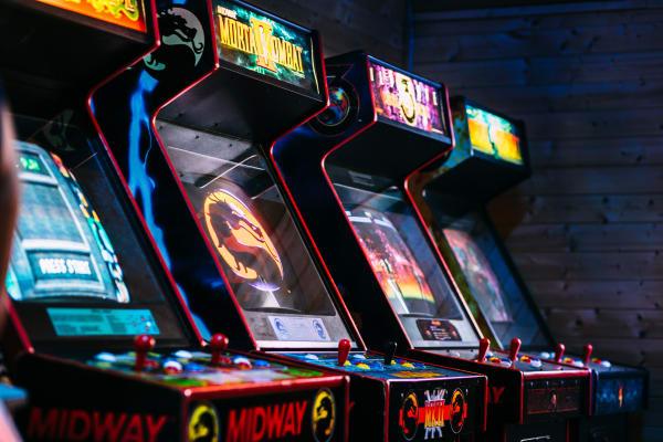 Taste. Shop. Play: Arcade world