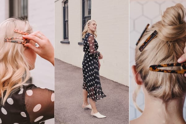 How to style statement hair clips