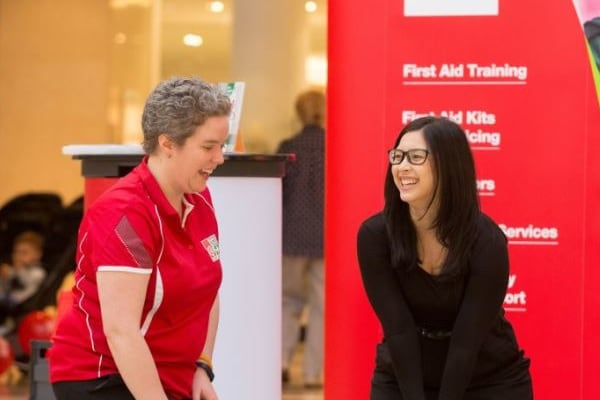 Learn first aid with St John WA