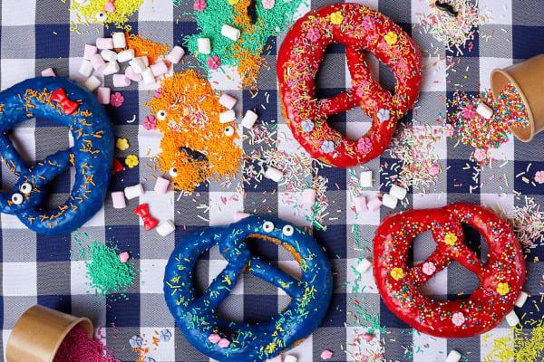 The Bavarian: decorate your own pretzel this Oktoberfest