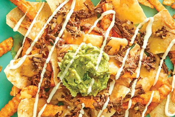 Salsas: Double Chip Nachos