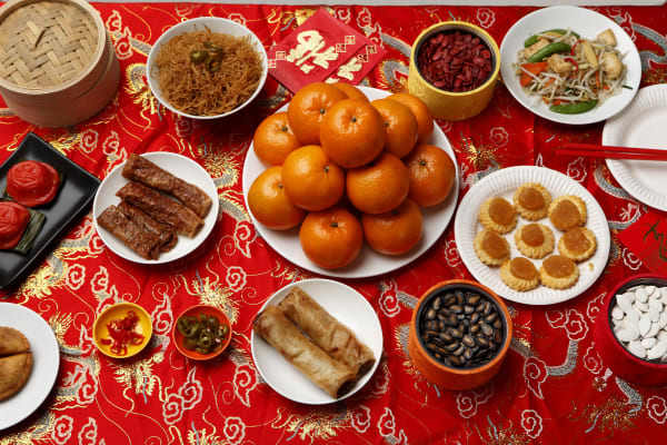 Eight lucky foods inspired by Lunar New Year