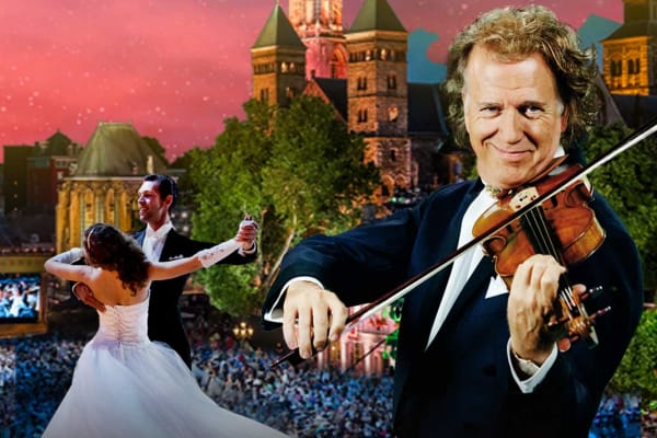 Win 1 of 2 double passes to André Rieu's 2019 Maastricht Concert