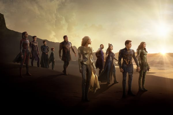 Win a double pass to see Eternals at HOYTS with Westfield Plus