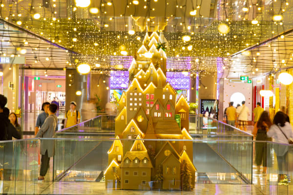 Welcome the festive season at Westfield Sydney