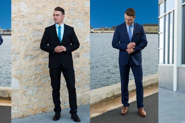 Ed Harry: 2pc suits half price $129.98
