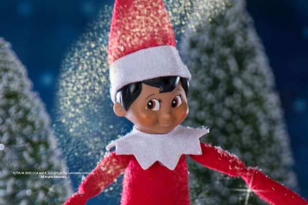 Snap a selfie with The Elf on the Shelf®
