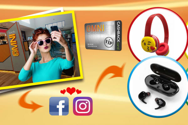 Snap a Selfie with OmniTech and win Prizes