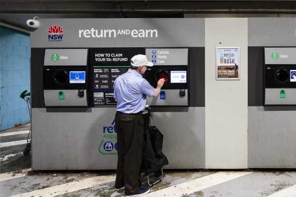 Return and Earn rubbish disposal
