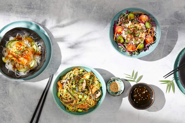 Sushi Sushi: new tasty Japanese salad range