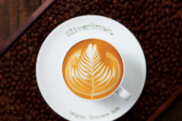 Oliver Brown coffee cart