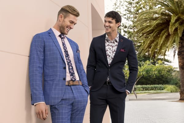 Connor: save $50 on suits and 30% off blazers