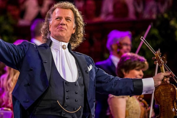 Win 1 of 2 double passes to André Rieu: 70 Years Young