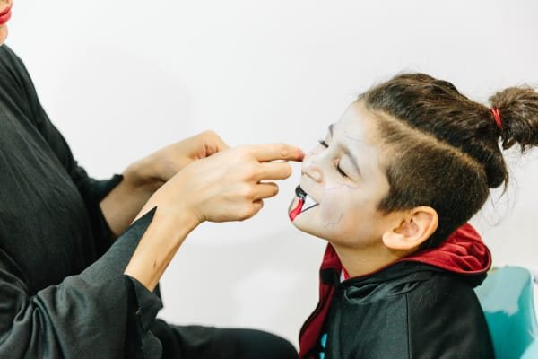 Spooky Face Painting