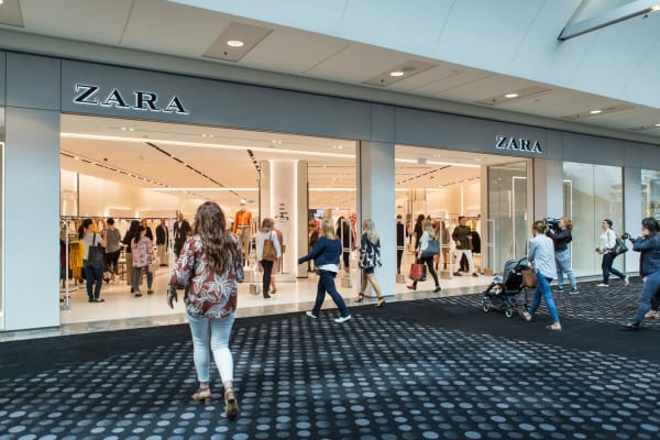 Zara is now open