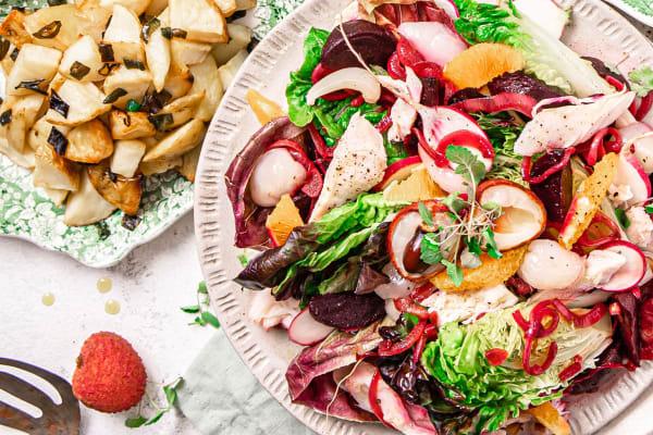 Recipe: Lychee Duck Salad