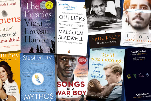 Dymocks: 2 for $40 on selected non-fiction titles