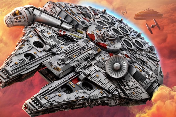 Win a LEGO® Star Wars™ Millennium Falcon