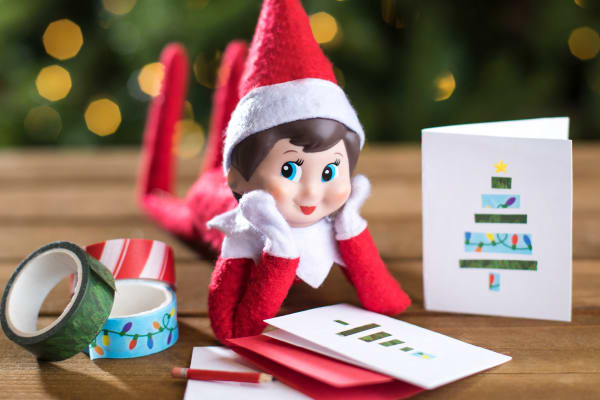 The Elf on the Shelf® craft station