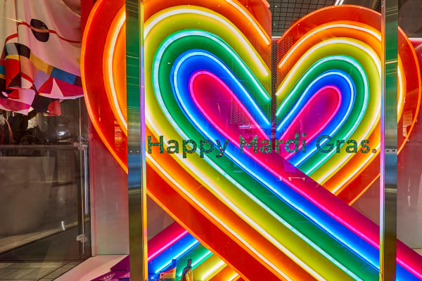 Celebrate love with rainbow moments