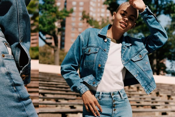 Tommy Hilfiger: Tommy Jeans 100% Recycled Denim range