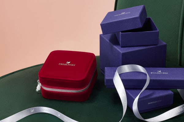 Swarovski: Single's Day Travel jewellery box